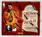 2020-21 Panini Crown Royale BASKETBALL Factory Sealed HOBBY BOX Free Prioity S H