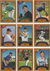 2002 Topps Traded and Rookies Baseball Cards 11