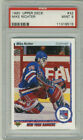 1990 Upper Deck 32 Mike Richter RC Rookie New York Rangers PSA 9 Free Shipping