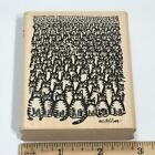 B Kliban Cat Rubber Stamp Cat Convention 1991 RARE Rubber Kitty Stampede HTF