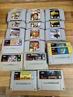 N64 ,SNES AND NES GAMES CART ONLY