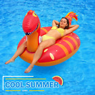 Giant Inflatable Tube Pool Float Swimming Dinosaur Ride on Lounge Party Beach