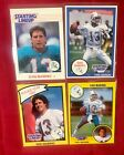 Dan Marino Starting Lineup Cards Rookie Year 1988 1989 1990 1991 Miami Dolphins