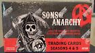 Sons Of Anarchy seasons 4 & 5 factory sealed trading card box