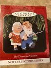 HALLMARK KEEPSAKE ORNAMENT -THE CLAUSES ON VACATION COLLECTOR'S SERIES #1 -1997