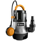 Submersible Water Pump 1 2HP Thermoplastic Utility Pump with Long 16ft Cable