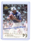 Johnny Unitas Cards, Rookie Card and Autographed Memorabilia Guide 20
