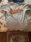 """AUTHENTIC Baltimore Orioles """"away"""" jersey, Circa 1995-2001. Size 48, Russell"""