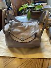 Lindy 26 Fashion Purse Taupe Pen Marks On Handles Very Soft LeatherSee Pictures