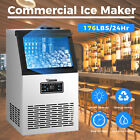 Anbull Built-in Commercial Ice Maker Undercounter Freestand Ice Cube Machine Us