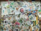 Worldwide Stamps 1 Pound lb Mix Lot Off Paper 4000+