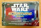 STAR WARS 2021 TOPPS SIGNATURE SERIES FACTORY SEALED HOBBY BOX - TRIPLE AUTO?