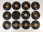 Lot of 12 VTG Little Wonder Phonograph Records 1 Sided 78 RPM 5 1 2 Solos Music