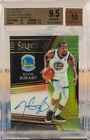 2018 Panini Select Kevin Durant Neon Green Prizm Refractor Auto 35 BGS 9.5 10