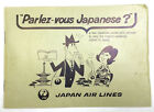 JAPAN AIR LINES Parlez vous Japanese Booklet Words Phrases Characters