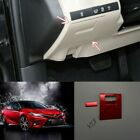 Fit For Toyota Camry 2018 2019 red Main driver locker Decorative frame 2pcs New