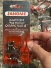 Janome Convertible Free Motion Quilting Foot Set SB