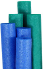 Pool Mate Premium Extra Large Swimming Pool Noodles Blue and Teal 6 Pack