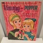 Vintage Whitman Tammy and Pepper Paper Dolls 1963 by Ideal