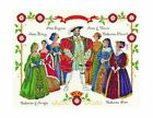 DMC Henry VIII and Wives Complete Cross Stitch Kit Kings and Queens Collection