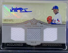 Drool-Worthy 2011 Topps Marquee Baseball Titanic Threads Patches 35