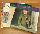 4 Knitting Lace Books Creative Guide To Knitted Scarf Style Lace Style etc
