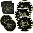 Gift Boutique Graduation Plates and Napkins 2021 for 50 Guests Disposable Din