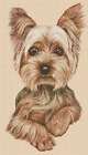Yorkshire Terrier Dog Counted Cross Stitch COMPLETE KIT No2 433