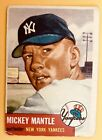 1953 topps baseball card complete set Mantle Mays Robinson and the rest