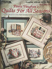Paula Vaughan Cross Stitch QUILTS FOR ALL SEASONS Book 56 12 Designs
