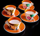 Clarice Cliff Metropolitan Museum of Art Autumn Reproduction Cup and Saucers, Fo