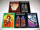 LOT of 5 Stained Glass Quarterly Magazines Vintage Back Issues 1986 1987 Color