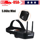 58Ghz Mini FPV Goggles 3 inch 40CH Video Headset Glasses for FPV Racing Drone