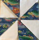 Pre cut Quilt kit 16 blocks includes matching border and backing fabric 42x42