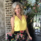 Cabi 5725 Sunshine Cami Yellow Blouse Spring 2020 Size Medium New With Tags