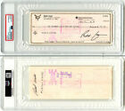 Redd Foxx SIGNED Personal Check Sanford and Son Comedian PSA DNA AUTOGRAPHED