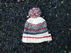 Mary Maxim Boots Canada Norhland Yarn Knit Beanie Winter Hat ONE SIZE