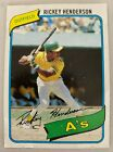 Rickey Henderson Cards, Rookie Card and Autographed Memorabilia Guide 3