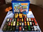 Matchbox Superfast Lot Of 48 Cars With 1975 Canadian Issue Car Carry Case