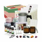 DIY Candle Making Kit Supplies Complete Beginners Set with Soy Wax Pot Tin