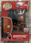 Funko POP! DC: Imperial Deathstroke #368 SDCC 2021 Summer Convention Exclusive