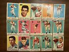 Lot of 15 1959 Topps CFL Football Cards * Canadian Football Canada