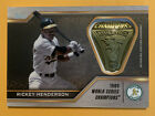 Rickey Henderson Cards, Rookie Card and Autographed Memorabilia Guide 21
