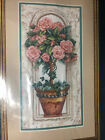 RARE NEW Dimensions Sunset Rose Topiary counted cross stitch  13674 Unopened