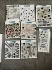 Huge Concord and 9th Turnabout Background Clear Stamp Sets 8 Pkg Bundle