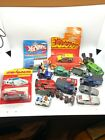 Vintage Lot of Diecast Cars some with Original Package Hot Wheels Red Line etc