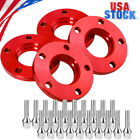 5x120 Staggered Wheel Spacers Kit 2 15mm  2 20mm W Extended Bolts For BMW