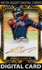 Topps Bunt Tribute Special Release Ronald Acuna Jr GOLD PERSPECTIVES ICONIC BUNT