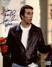 HENRY WINKLER SIGNED AUTOGRAPHED 8x10 PHOTO THE FONZ HAPPY DAYS ICON BECKETT BAS