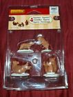 LEMAX Village Christmas Set of 4 Bear Family Snow Day #02943 Figurines Bears NEW
